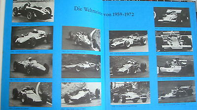 Grand Prix Spannender Zwickl Book On Racing  Cars 1935-72 German 130 Pages Vg