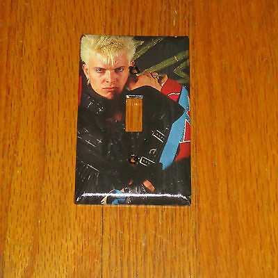 BILLY IDOL 1980's ROCK LEGEND Light Switch Cover Plate