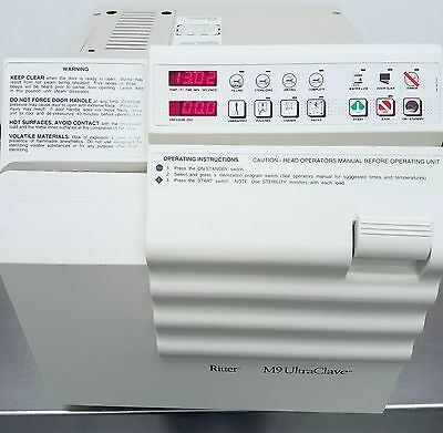 Ritter / Midmark - M9 Ultraclave w/ 4 Trays - Bench Top Autoclave Sterilizer