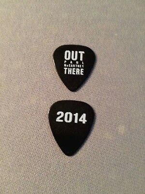 ((( PAUL McCARTNEY ))) guitar pick picks plectrum (ULTRA RARE) OUT THERE 2014