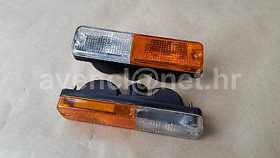 Fiat 128 127 Cl 131 132 Front Indicator Units Lamps Lights Blinkers