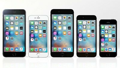 Apple iPhones 5 5S 6 16GB 32GB White Silver Gold Gray Black 4G/LTE GSM Unlocked