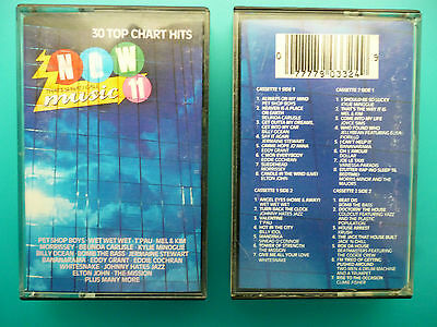 """Various Artists  """" Now That's What I Call Music 11 """"  Double Cassette"""