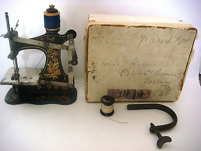 Antique Victorian Miniature Sewing Machine