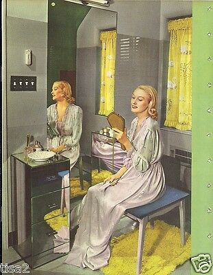 1947 PITTSBURGH GLASS Products Catalog Windows Mirrors Vintage Decor & Fashions