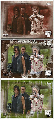 Walking Dead Season 5~ SEPIA,MOLD&MUD PARALLEL for BASE CARD 76 (#/10,#/25,#/50)