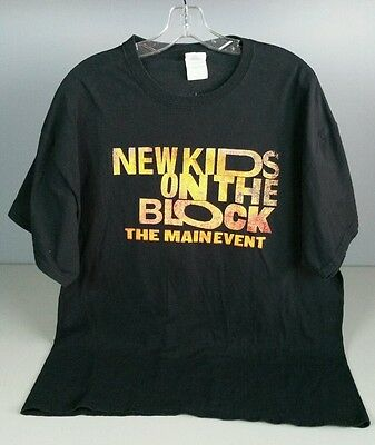 New Kids On The Block The Main Event Tour 2015 Shirt With Tlc - Nelly Xl