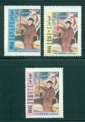 Iraq Scott #1643-1645 MNH Jerusalem Day $$