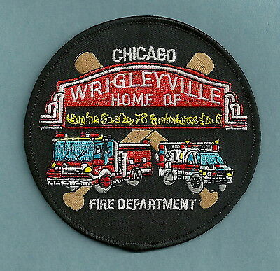 Chicago Fire Department Engine Company 78 Patch