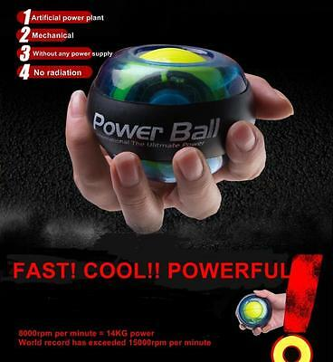 Gyroscope Power Ball Gyro Power Ball Wrist Arm Exercise Force Ball With Lights S