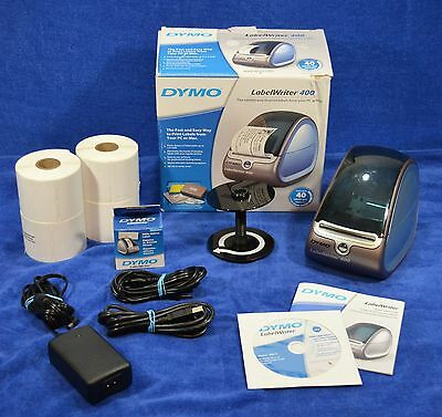 DYMO LabelWriter 400 MINT Condition With 1300+ Labels (A $16.50 VALUE!)