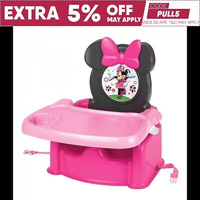 Disney Minnie Mouse Booster Seat The First Years Child's Booster Seat