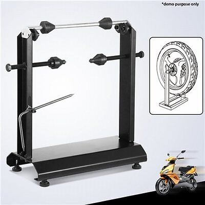 NEW Heavy Duty Carbon Steel 14 Inch Motorcycle Wheel Balancer Balancing Stand