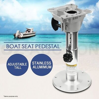 Height Adjustable Heavy Duty Boat Seat Locking Pedestal 330mm-489mm