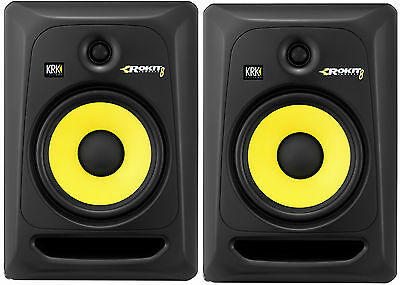 Krk Rp-8 G3 Rp8 G3 Rokit Studio Monitors Active Couple Pair (2) - Offer