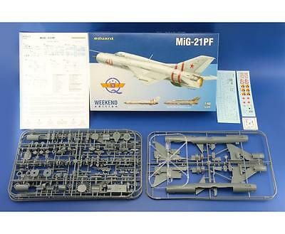 EDUARD 84127 MiG-21PF Supersonic Fighter in 1:48