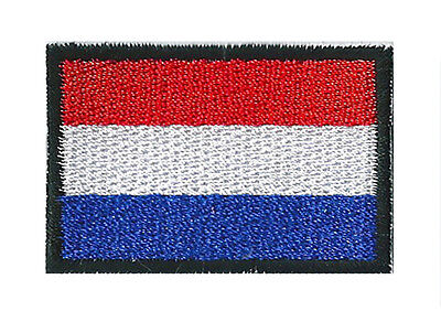Badge patch embroidered ready to stick Country Bas Holland little / small patch