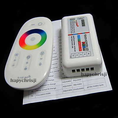 2.4G RGBW Touch Screen LED Control System & Remote Controller To LED Strip Light