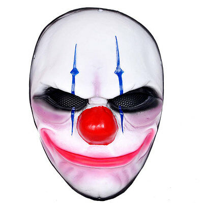Adult Airsoft Paintball Protection Mask PAYDAY Heist Joker PORP Cosplay H711