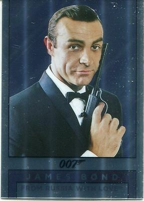 James Bond Archives 2016 Spectre Mirror Chase Card M2