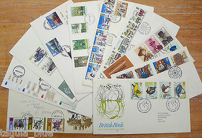 GB Stamps Collection of First Day Covers x10 (#10)