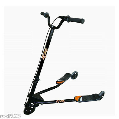 Street Blaze Scooter® Perpetual Movement Like Skiing Feet Dont Touch The Ground