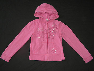 Girl's Old Navy Pink Hooded Jacket / Cardigan / Hoodie (size 7-8 years)