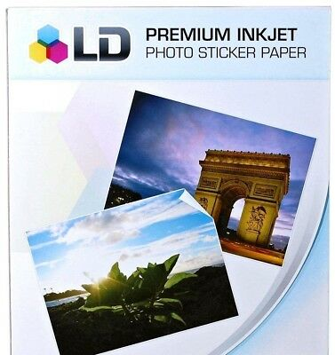 1010 Free 20 Sheet Sticker Paper Ld Glossy Inkjet Laser Printer