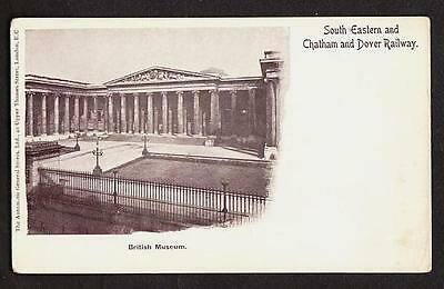 RAILWAY OFFICIAL POSTCARD SOUTH EASTERN & CHATHAM & DOVER RAILWAY c1910