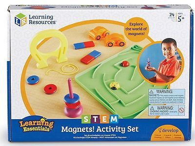 Learning Resources - STEM - Magnets Activity Set