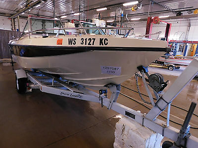 17' Browning Monte Carlo 165HP Mercruiser In/Outboard w/Trailer T1257087