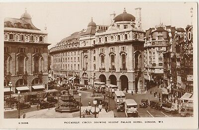 Postcard - Regent Palace Hotel, London and Piccadilly Square