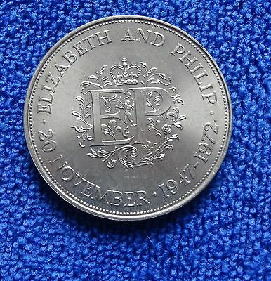 Crown Coin - 1972 To Commemorate The Silver Wedding Of Hm The Queen