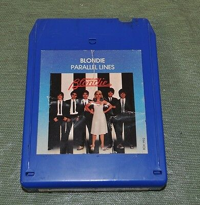 Blondie Parallel Lines 8 Track Tape TESTED