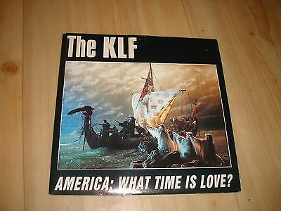 """The Klf - America: What Time Is Love? (Klf Comm' 7"""")"""