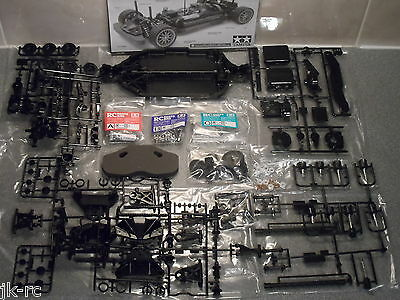 New Tamiya TT-02 4WD R/C Touring Car Chassis Kit Only (TT02) On-Road