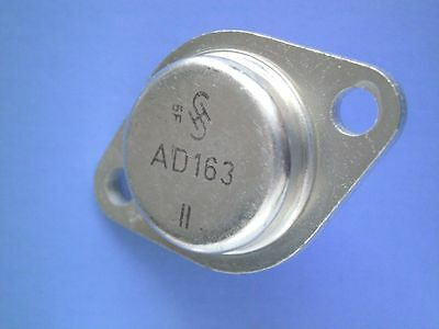 5 x AD163 II alter Germanium Leistungs- Transistor TO-3 SIEMENS