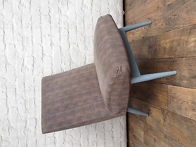 Vintage Parker Knoll Blue Pink Grey Lounge Chair