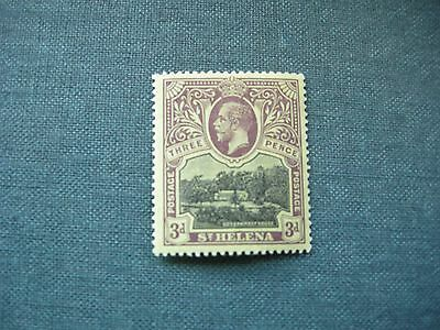 St Helena 1 stamp 3d KGV mounted mint.