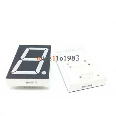 1.8 inch 1 digit Red Led Display 7 segment Common Cathode