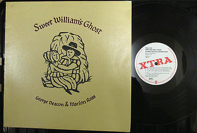 George Deacon & Marion Ross  Sweet Williams Ghost Folk LP with Insert