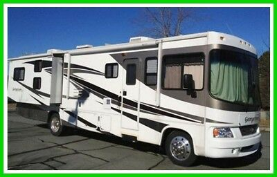 2008 Forest River Georgetown 350DS Class A Bunkhouse EDITN 2 Slides Generator NC
