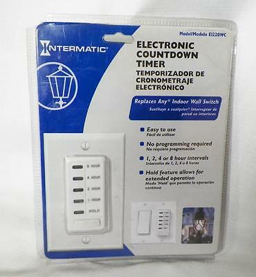 Intermatic Electric Countdown Timer E122OWC  new