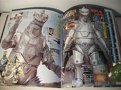 Godzilla Vs Mecha Godzilla 2002 Japanese exclusive book