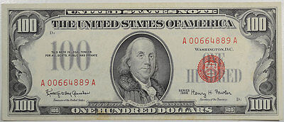 1966 $100.00 United States Note, Fr-1550 Xf