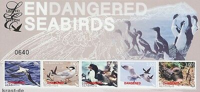Neuseeland New Zealand - 2014 Limited Edition Seevögel Seabirds Block 337 **