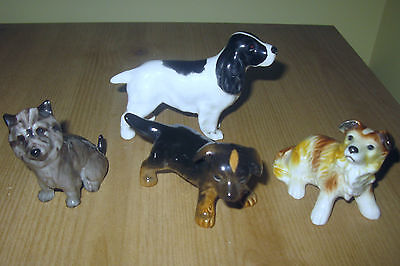 Beswick, Royal Doulton, Goebel, Dogs! 4 Pieces. Free Shipping In Canada/usa!