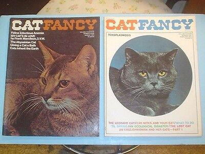 August 1971 February 1972 CAT FANCY Magazine
