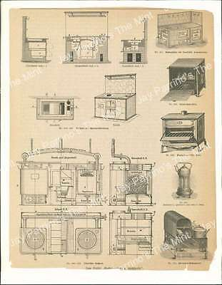 AJY-749 Antique Print Stoves