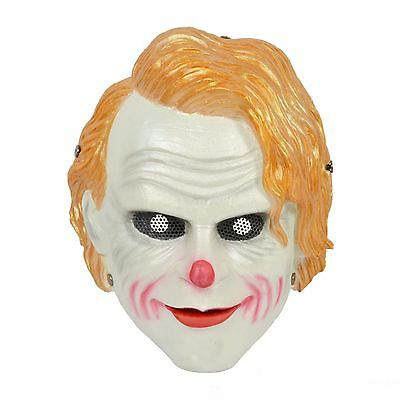 Terror Orange Clown Airsoft Paintball War Games Protection Mask Adult